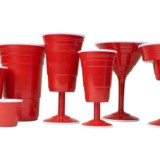 Red Plastic Cups For Wine, Cocktails and More