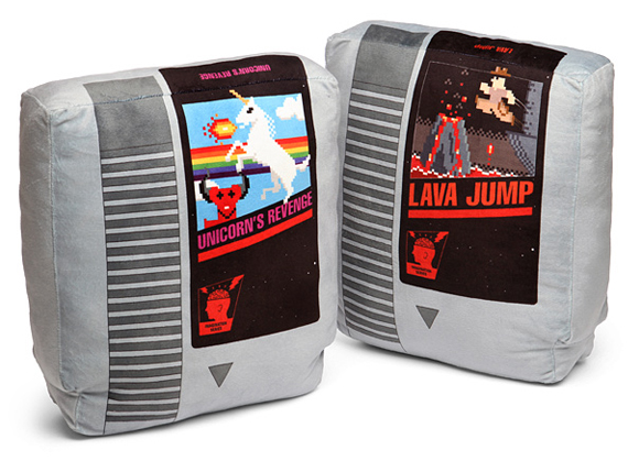 Cuddle Up With A Retro Game Cartridge