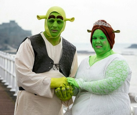 One Shrek Of A Wedding
