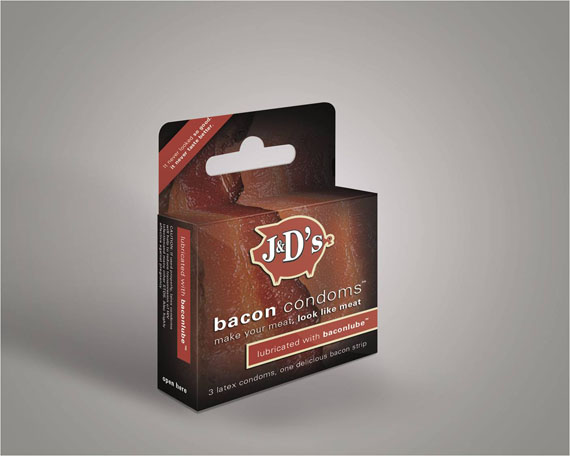 You've Gone Too Far: Bacon Condoms