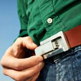 Buckle Puffer Belt