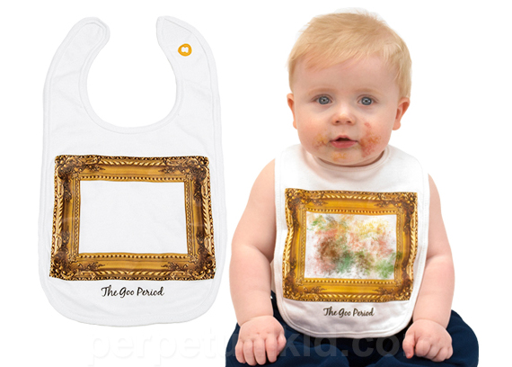 Vincent Van Bib Is Perfect For Baby's Goo Period