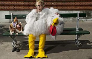 A Gramma & Her Chicken