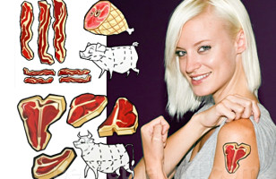 Meat Tattoos Are Not Vegan-Friendly