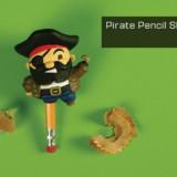 Pirate Peg Leg Pencil Sharpener