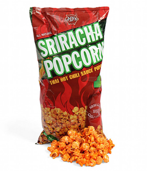 Hot & Spicy Sriracha Popcorn
