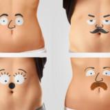 Talking Bellies Temporary Tattoos
