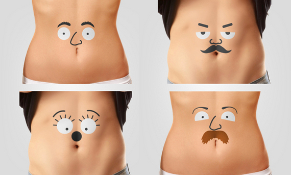 Temporary Tats Make Your Belly Talk