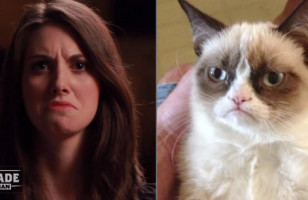 Alison Brie Impersonating Memes