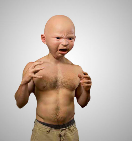 Do Not Like: Lifelike Baby Masks