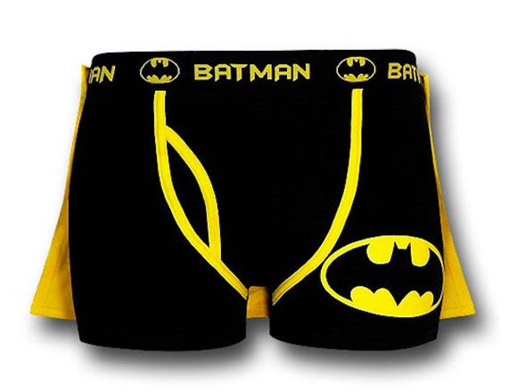 Batman Boxer Briefs With A Cape