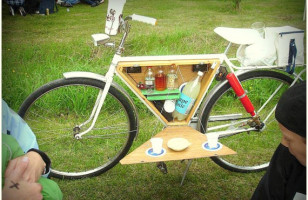 Bicycle Bar Cart: Because It's Totally Legal