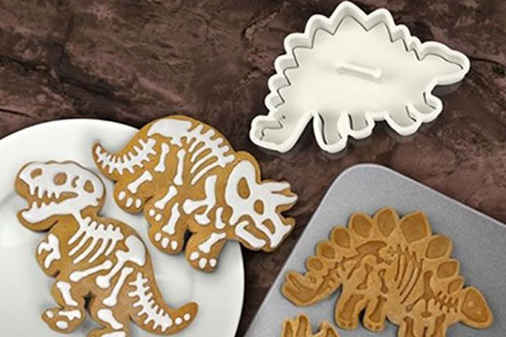 Fossilized Dino Cookie Cutters