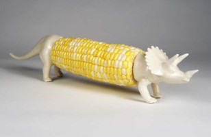 RAWR! Dino Corn Cob Holders