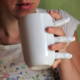 Finger Coffee Mug