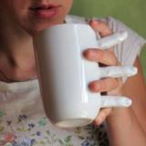 Finger Coffee Mug