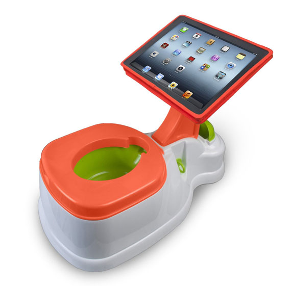 iPad Stand For Your Baby's Potty