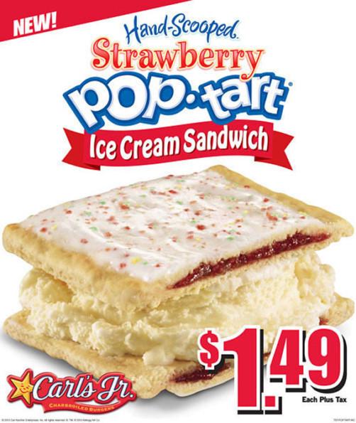 YES PLZ: Pop-Tart Ice Cream Sandwich
