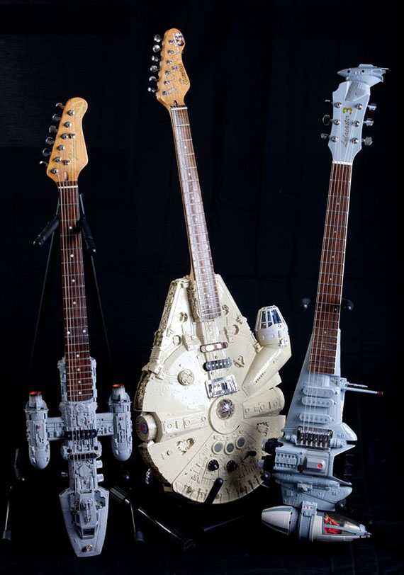 Star Wars' Spaceship Shaped Guitars