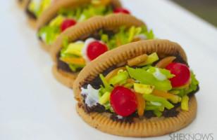 ¡Ay yi yi!: Mini Taco Cookies Recipe