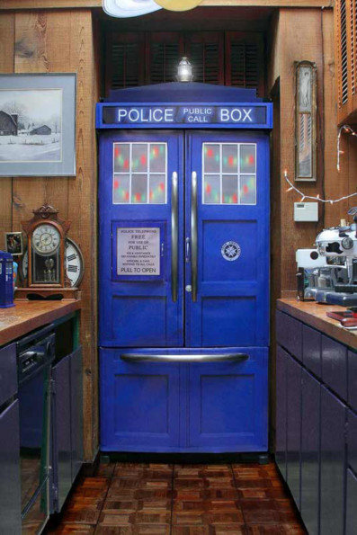 Kit Turns Your Fridge Into A TARDIS