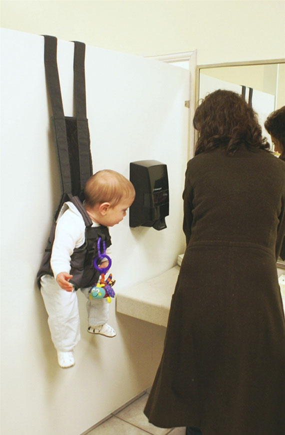 Hands-Free Over The Door Baby Holder