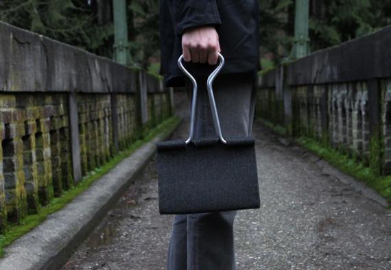 Binder Bag Full of Women's Stuff