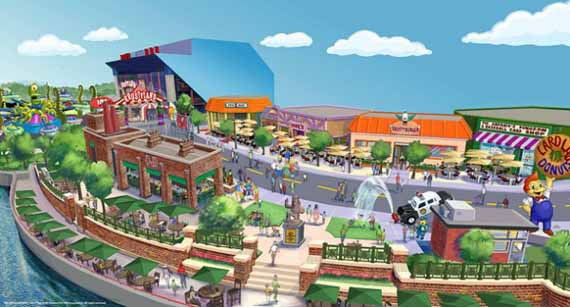 Coming Soon: Simpsons Theme Park