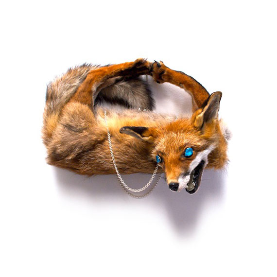 Fancy Accessories Made From Roadkill