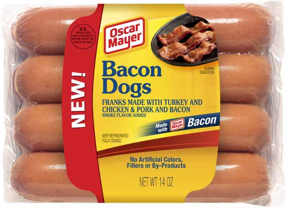 About Time!: Bacon Infused Hot Dogs