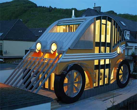 The Car-Shaped House