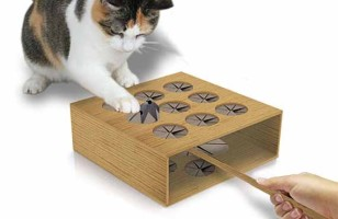 Whack-A-Mole Game For Cats