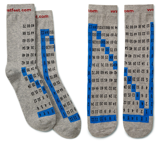 Your Cheatin' Socks Won't Tell On You