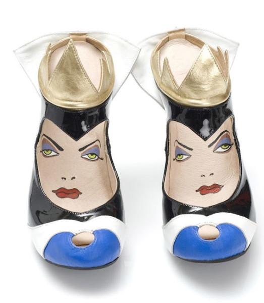 Bad-Ass Disney Villain-Inspired Shoes