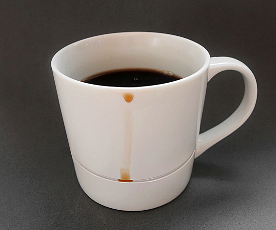 Quit Spilling Coffee, Get A Drop Rest Mug