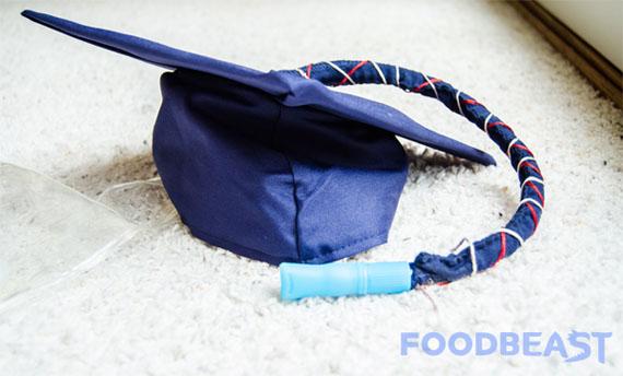 DIY Graduation Cap Flask Incredible Things