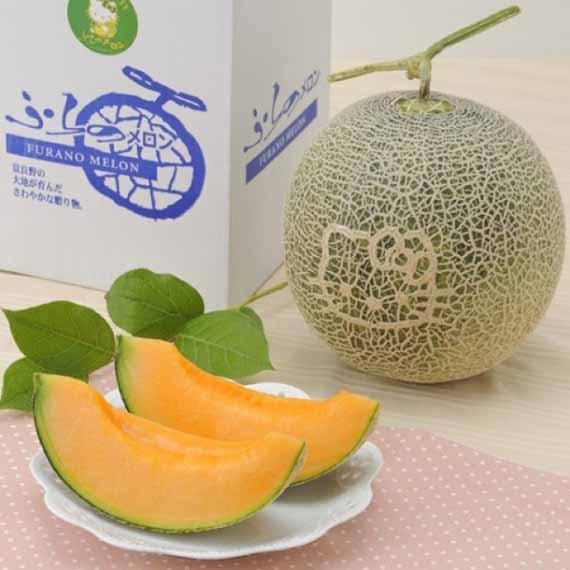 Hello Kitty Melon Is 5 Apples High