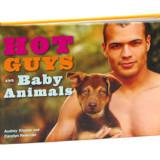 Hot Guys And Baby Animals Book