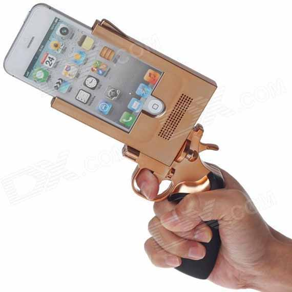 The Pistol-Shaped Novelty iPhone Case | Incredible Things