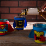 Superhero Shot Glasses Come With Capes