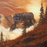 Thrift Store Monster Paintings