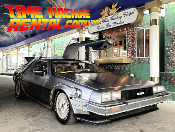 Rent A Back To The Future DeLorean