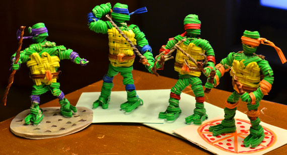 TMNT Twisty Tie Sculptures