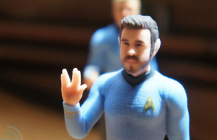 Custom 3D Printed Star Trek Figures