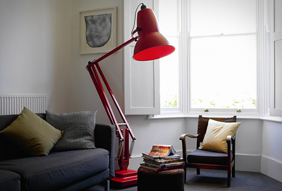 a giant s desk lamp is a regular person s floor lamp. Black Bedroom Furniture Sets. Home Design Ideas