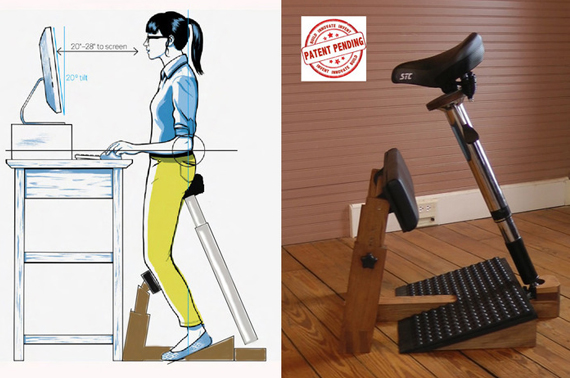 Finally A Chair For Your Standing Desk Incredible Things