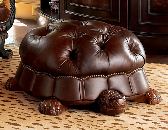 DO NEED: Turtle Foot Stool