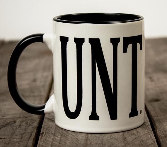 UNT Mug with C-Shaped Handle