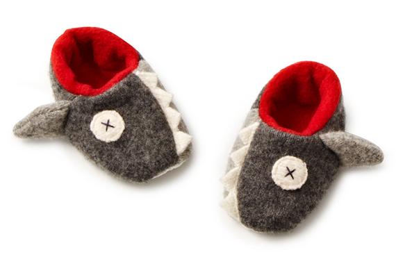 Dangerously Cute: Baby Shark Slippers