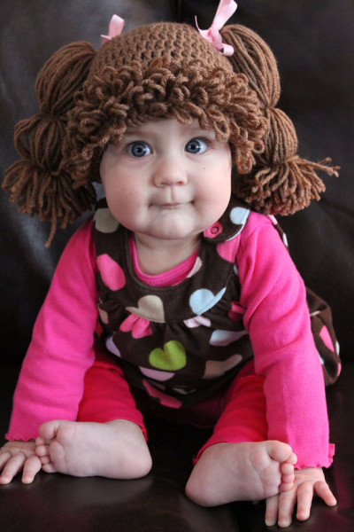 Cabbage Patch Kid Style Wigs For Babies